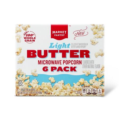 Light Butter Microwave Popcorn 6ct