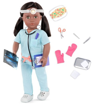 """Our Generation 18"""" Doctor Doll with Scrubs Outfit - Cierra"""