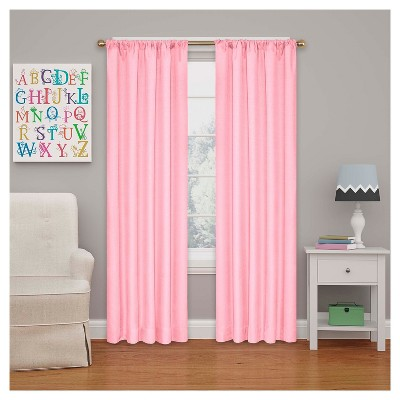 Kendall Blackout Thermaback Curtain Panel Bouquet (54 x42 )- Eclipse MyScene