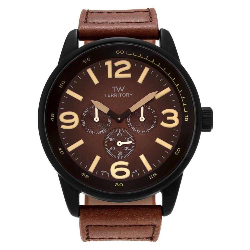 Men's Territory Wristwatch Online Unique Brown