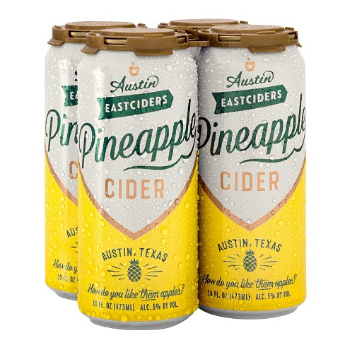 Austin Eastciders Pineapple - 4pk/12 fl oz Cans - image 1 of 1