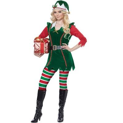 California Costumes Festive Elf Adult Costume