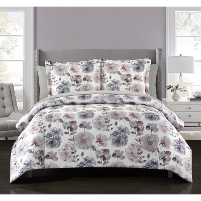 Blossom Reversible Comforter Set with Sheets - Idea Nuova