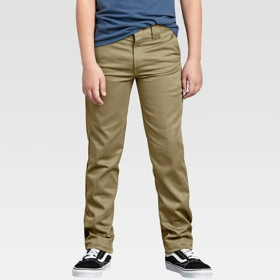Dickies Boys' Flex Skinny Fit Straight Leg Pants