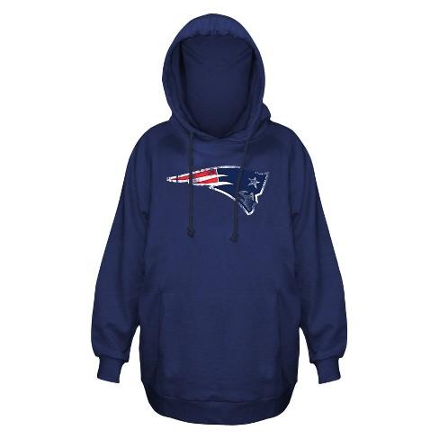 abd4c1eff1c New England Patriots Women s Plus Size Team Logo Fleece Pullover Hoodie  Sweatshirt - 3X   Target