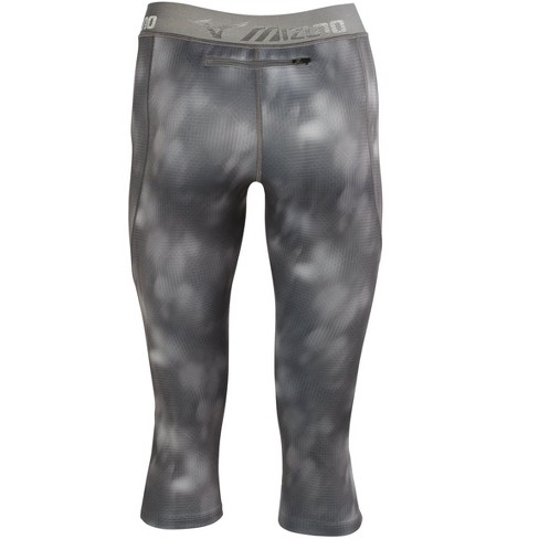 fa35d4bf51 Mizuno Women's Impulse 3/4 Printed Running Tight, Size Large In Color Lunar  (9797) : Target