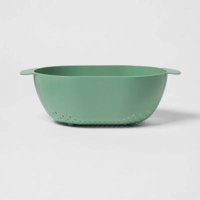Plastic Colander Green - Room Essentials™