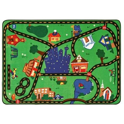 "Carpets For Kids Cruisin' Around the Town Carpet 3'10"" x 5'5"""