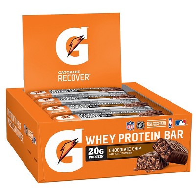 Granola & Protein Bars: Gatorade Whey Protein Bar