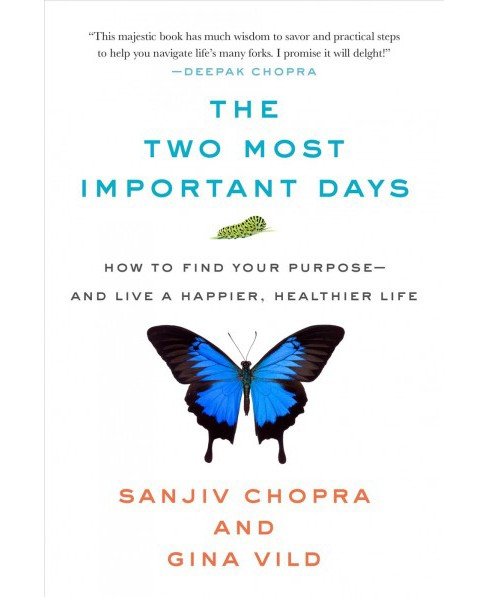 Two Most Important Days : How to Find Your Purpose - and Live a Happier, Healthier Life (Hardcover) - image 1 of 1