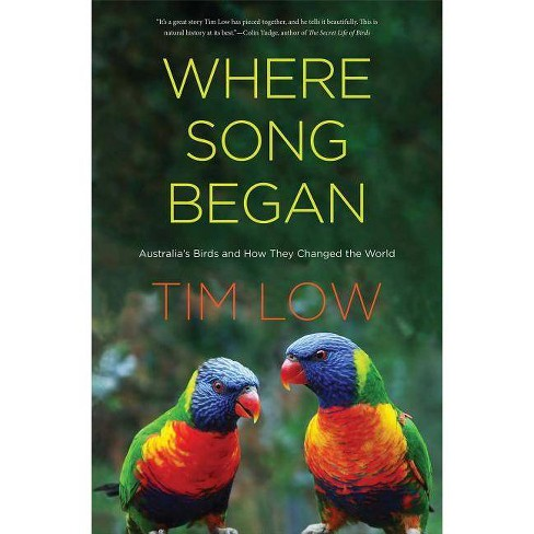 Where Song Began - by  Tim Low (Hardcover) - image 1 of 1