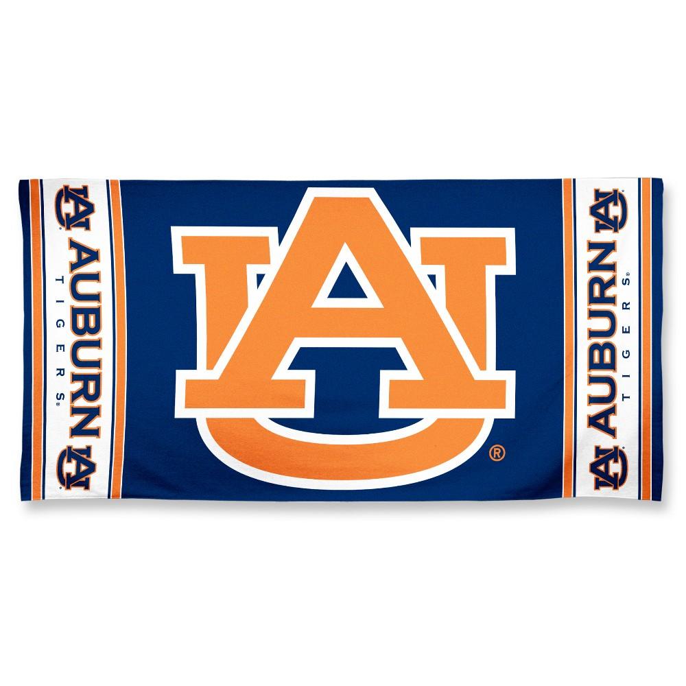 NCAA Auburn Tigers Beach Bath Towel