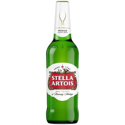 Stella Artois Belgian Ale Beer - 22.4 fl oz Bottle