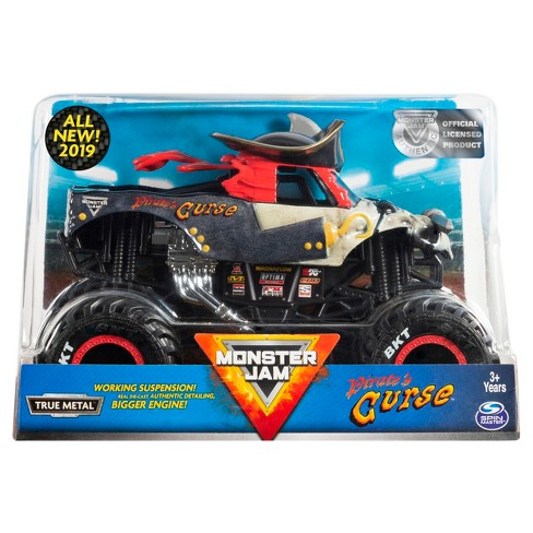 Monster Jam Official Pirate's Curse Monster Truck Die-Cast Vehicle - image 1 of 5