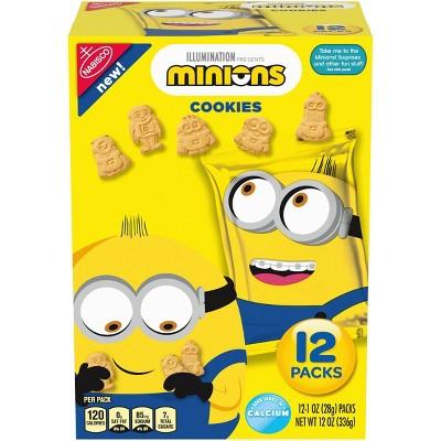 Nabisco Minions Cookies - 12oz