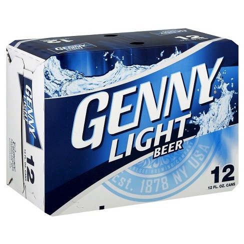 Genny® Light Beer - 12pk / 12oz Cans - image 1 of 1