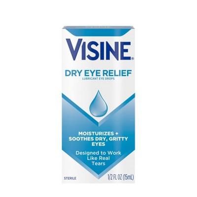 Visine Dry Eye Relief Lubricating Eye Drops - 0.5 fl oz