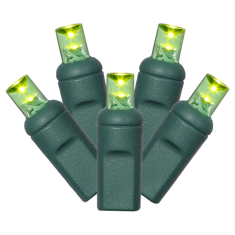 """Image of """"100Lt LED String Lights Set WA EC 6""""""""x50'L – Lime"""""""