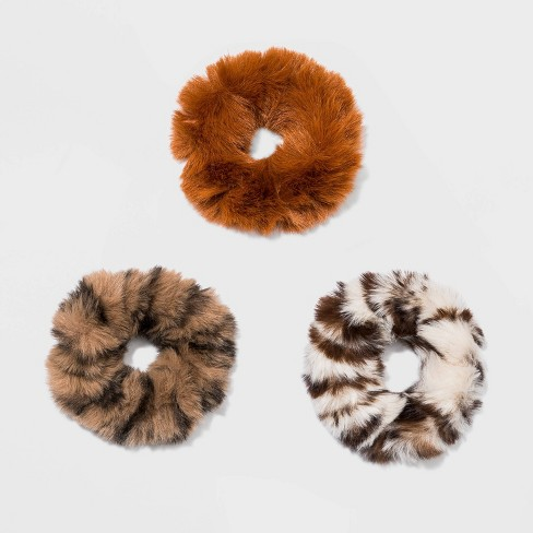 Mix Faux Fur Twister, Fox Print, Solid 3pc - Wild fable™ - image 1 of 1