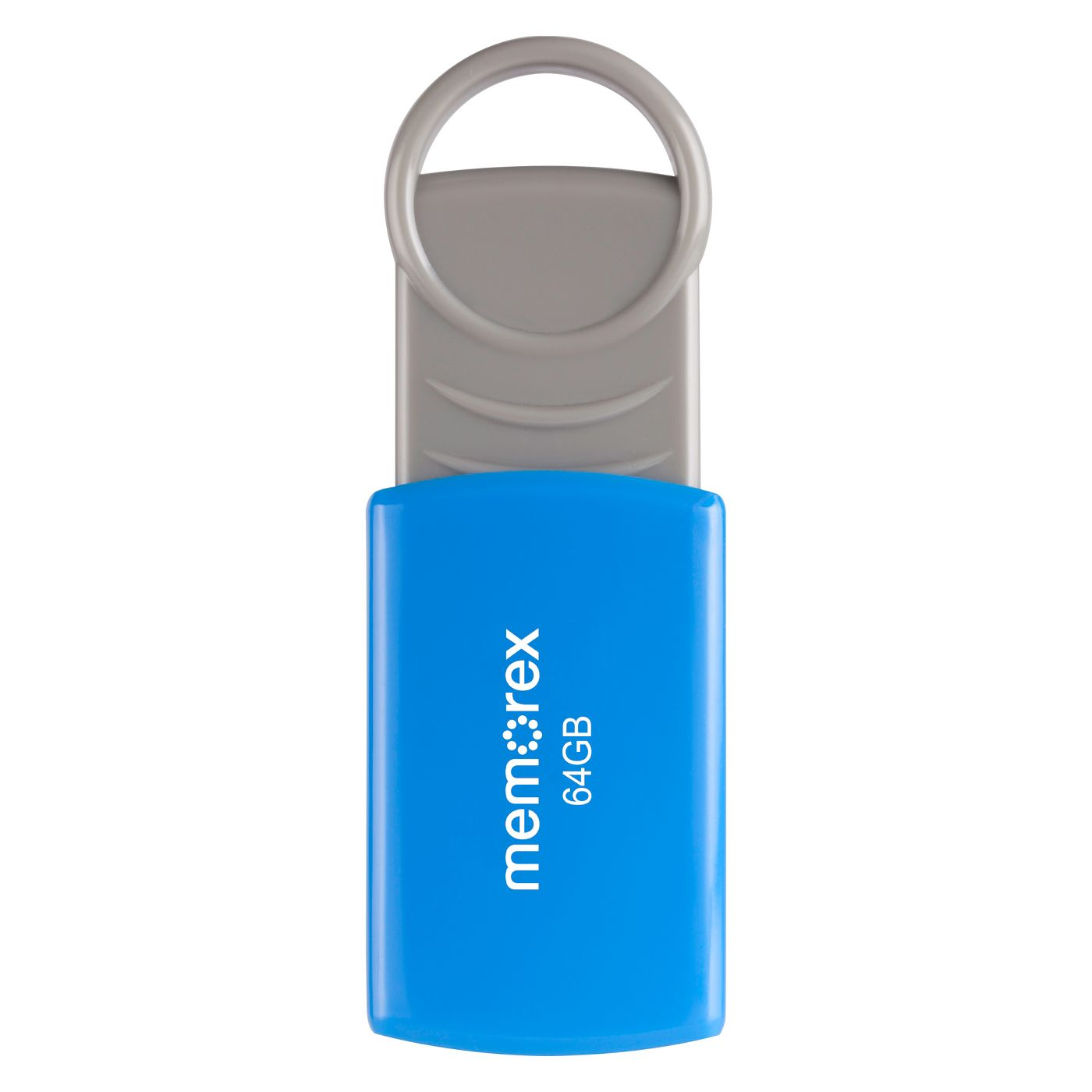 Memorex 64GB USB 2.0 Flash Drive - Blue