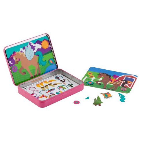 Stephen Joseph On-The-Go Magnetic Games - Horse - image 1 of 2