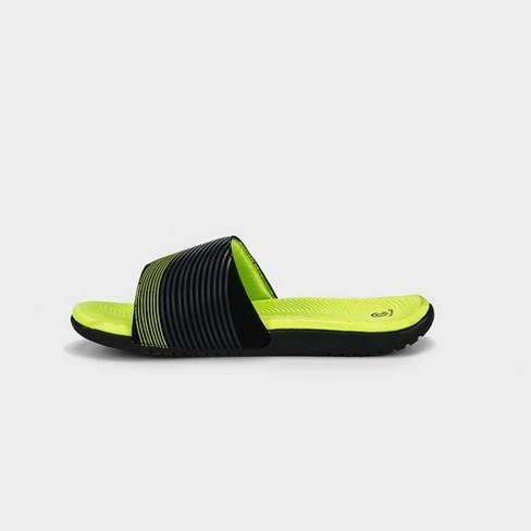 fb0cbd5eb74 Boys  C9 Champion® Patch Slide Sandals   Target