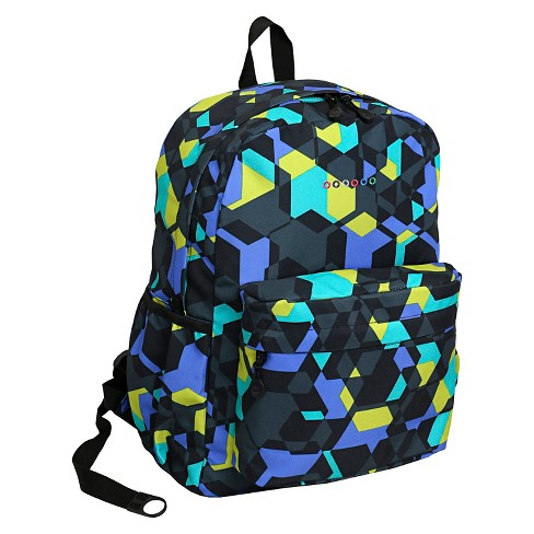 a5ceb287fe1 J World Oz Campus Backpack - Cubes