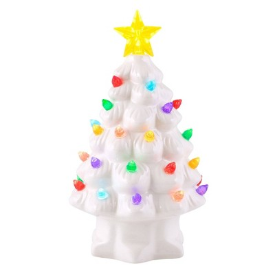 mr-christmas-small-ceramic-tree-decorative-figurine-white by shop-this-collection