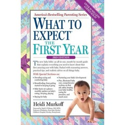 What to Expect the First Year (Paperback) by Heidi Murkoff and Sharon Mazel