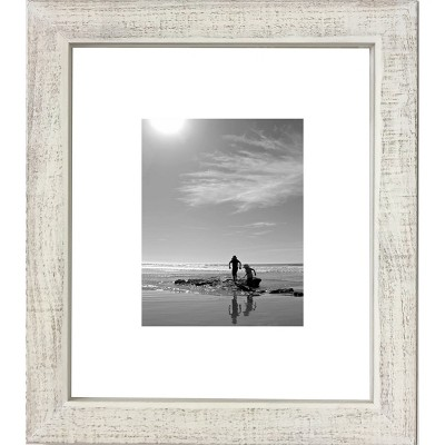 11  x 14  Washed Wood Frame White - Threshold™