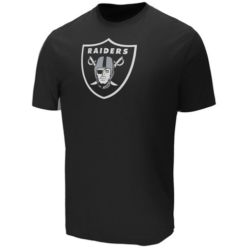 NFL Oakland Raiders Men's Target Sueded Cotton T-Shirt - image 1 of 2