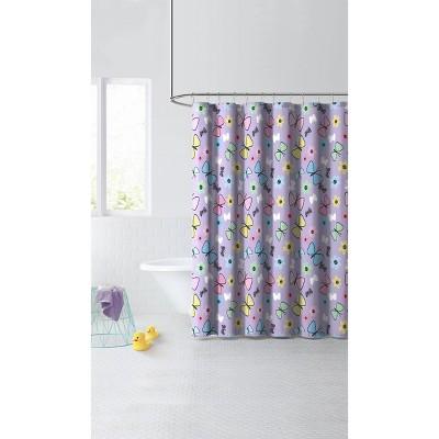 Sweet Butterfly Shower Curtain - Dream Factory