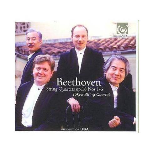 Beethoven: String Quartets Op 18 (CD) - image 1 of 1