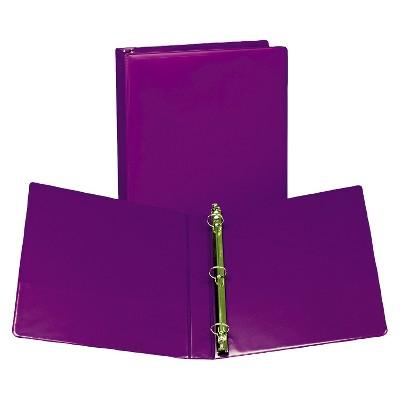 "Samsill® 1"" Fashion View 3 Ring Binder, 11 x 8-1/2, 2ct"