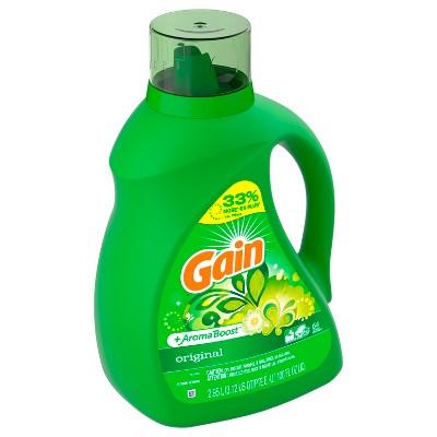Gain HEC Original Liquid Laundry Detergent 100 oz