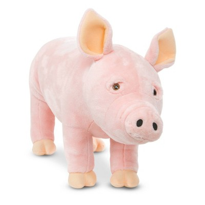 Melissa & Doug Giant Pig - Lifelike Stuffed Animal (over 2 feet long)