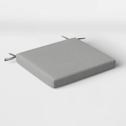 2pk Outdoor Seat Cushions DuraSeason Fabric™ - Threshold™ - image 1 of 3