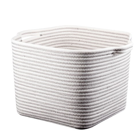 Bath Basket Medium Crate Off White - Threshold™ - image 1 of 1