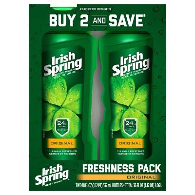 Body Washes & Gels: Irish Spring Body Wash