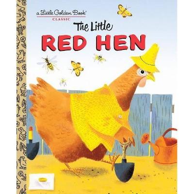 The Little Red Hen (Little Golden Book)- by J. P. Miller