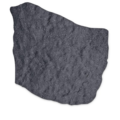 Gardener's Supply Company 100% Recycled Rubber Flagstone Stepping Stone 1/2in Thick - Gardener's Supply Company
