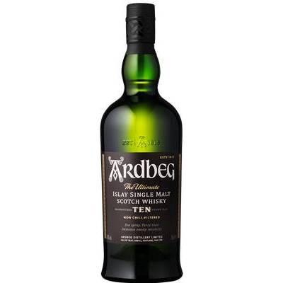 Ardbeg 10yr Islay Single Malt Scotch Whisky - 750ml Bottle