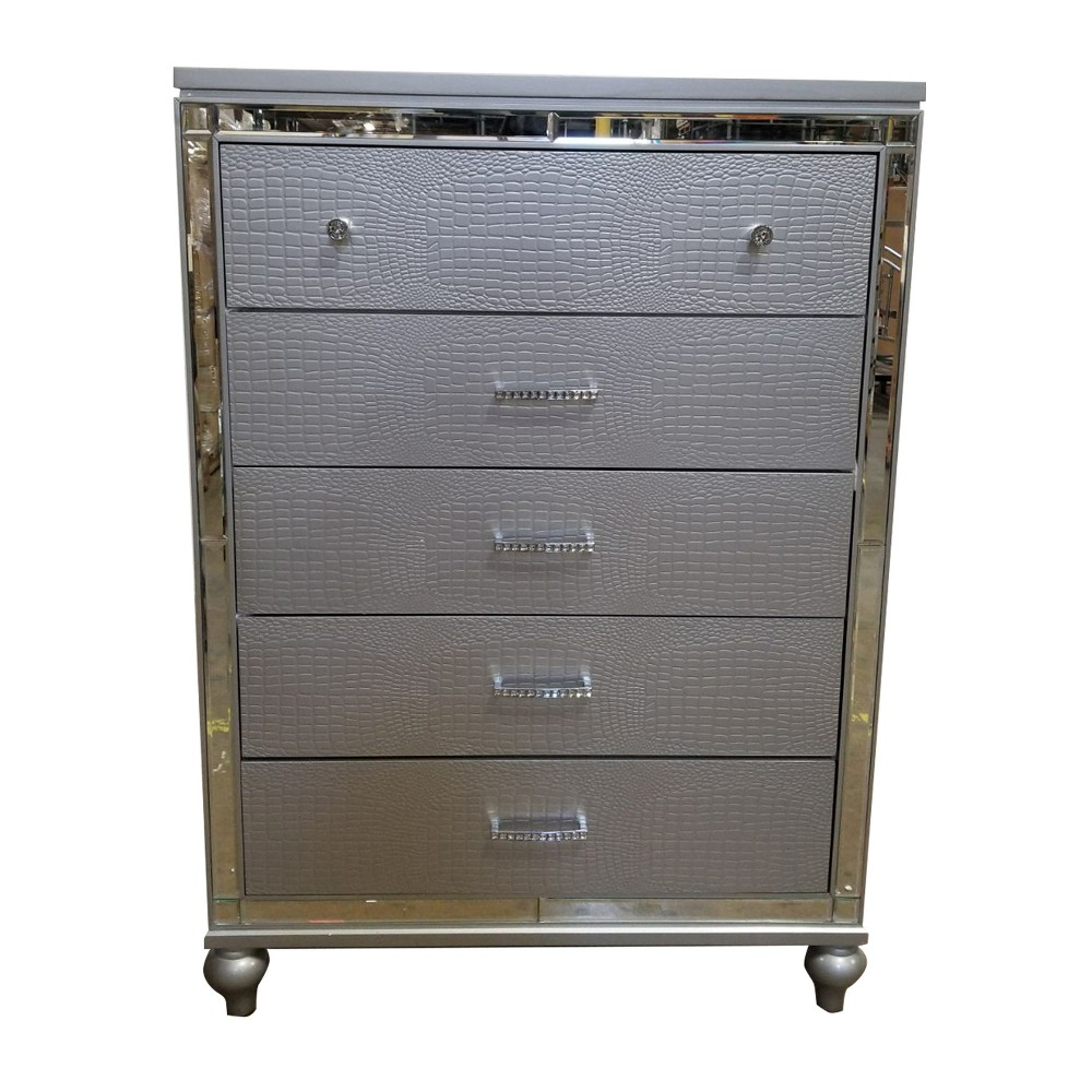 Kelly Chest Silver - Home Source Industries