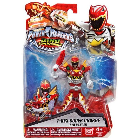 Power Rangers Dino Super Charge T-Rex Super Charge Red Ranger Action Figure - image 1 of 4