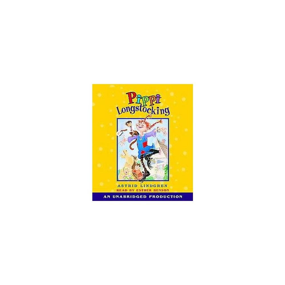 Pippi Longstocking (Unabridged) (CD/Spoken Word) (Astrid Lindgren)