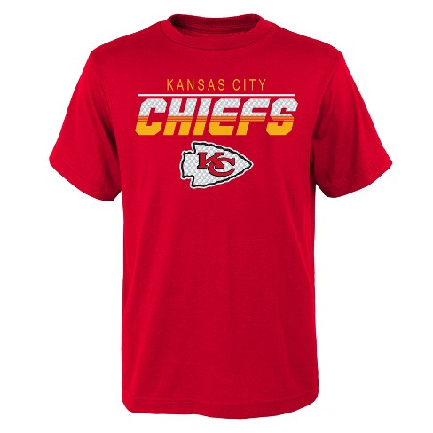 NFL Kansas City Chiefs Boys' Cheer Loud T-Shirt - image 1 of 1