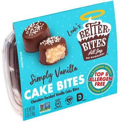 Better Bites Gluten Free Simply Vanilla Cake Bites - 6ct