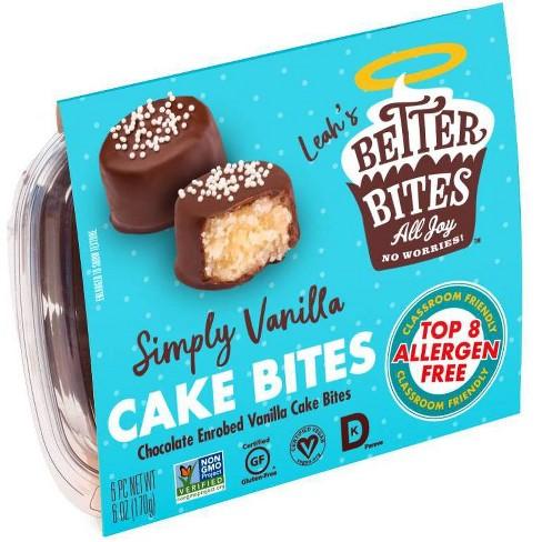 Better Bites Gluten Free Simply Vanilla Cake Bites - 6ct - image 1 of 4