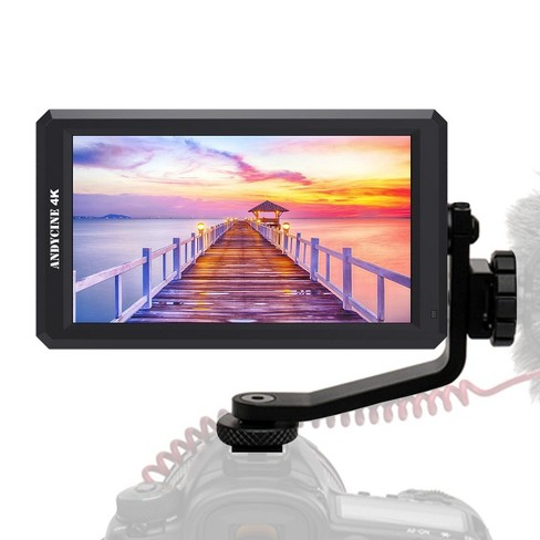 """AndyCine A6 5.7"""" IPS Full HD Camera Field Monitor with 8V DC Output and Swivel Arm, Supports 4K HDMI Input/Output - image 1 of 4"""