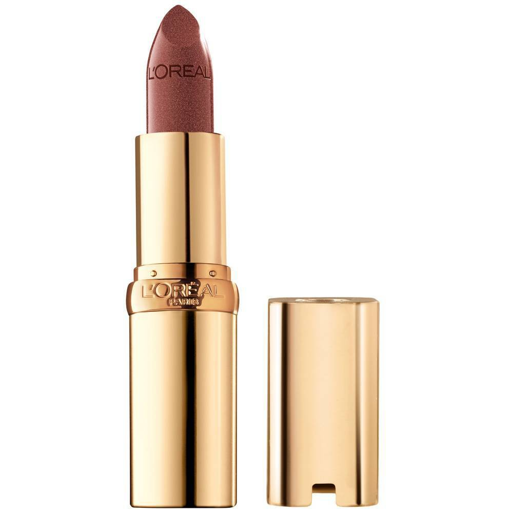 L 39 Oreal Paris Colour Riche Original Satin Lipstick For Moisturized Lips 825 Bronzine 0 13oz